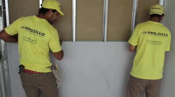 Cómo hacer una pared con placas de yeso Durlock®